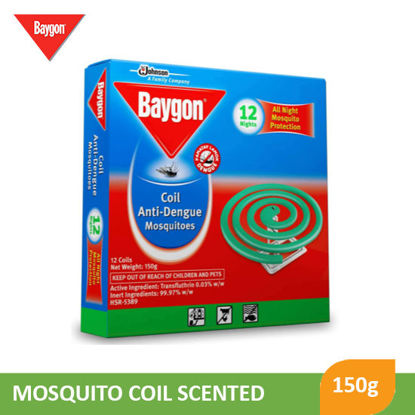 Picture of Baygon Mosquito Coil Scented 150G - 089566