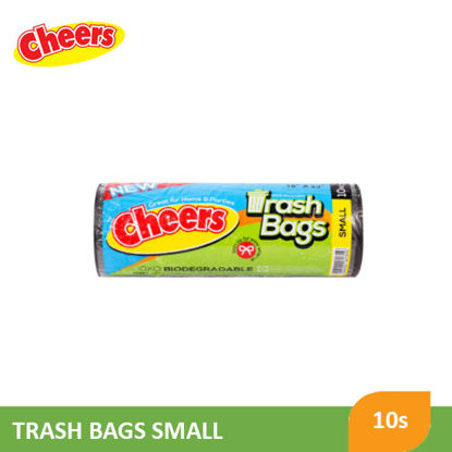 Picture of Cheers Trash Bag Black Small - 078718