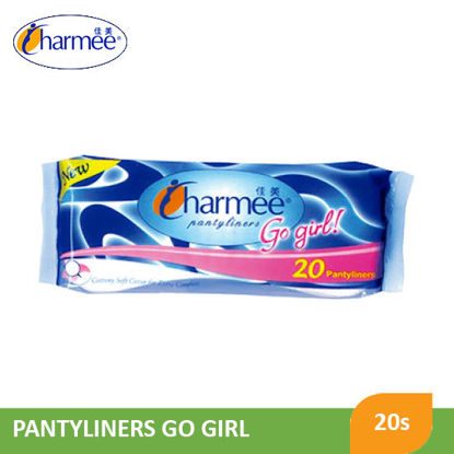 Picture of Charmee Go Girl Pantyliners 20S - 043544