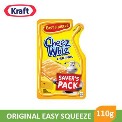 Picture of Kraft Cheez Whiz Original Easy Squeeze 110g - 063093