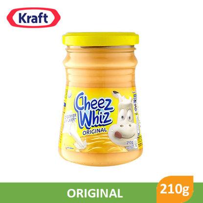 Picture of Kraft Cheez Whiz Plain 210g - 001286
