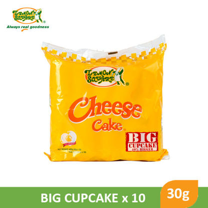 Picture of Lemon Square Cheese Cake Big Cupcake 42g x 10's - 090301