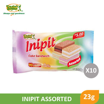 Picture of Lemon Square Inipit Assorted 23g x 10's - 009282