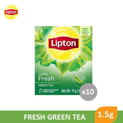 Picture of Lipton Fresh Green Tea 1.5g x 10's - 091317