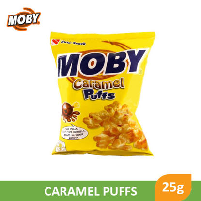Picture of Moby Caramel Puffs, 25g - 014307