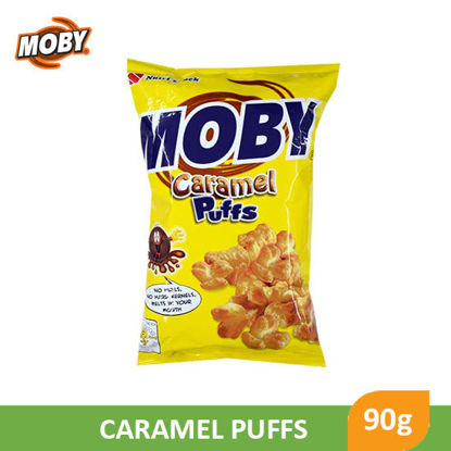 Picture of Moby Caramel Puffs 90g - 053056