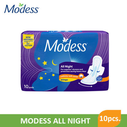 Picture of Modess All Night 10S - 080943
