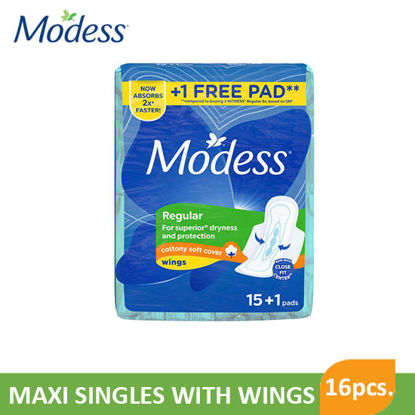 Picture of Modess Lego Maxi Singles with Wings 16S - 062690