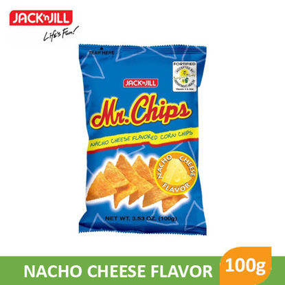 Picture of Jack N Jill Mr Chips 100g - 002777
