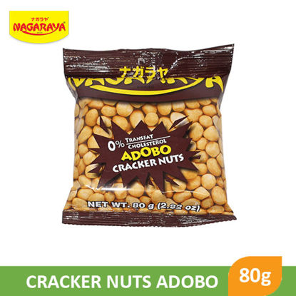 Picture of Nagaraya Cracker Nuts 80g, Adobo - 017938