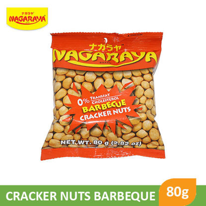 Picture of Nagaraya Cracker Nuts 80g, Barbeque - 017939