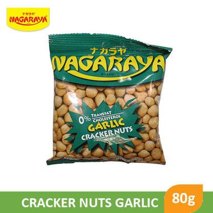 Picture of Nagaraya Cracker Nuts 80g, Garlic - 017940