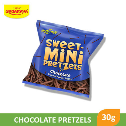Picture of Nagaraya Swt Mini Choco Pretzel 30g - 063110