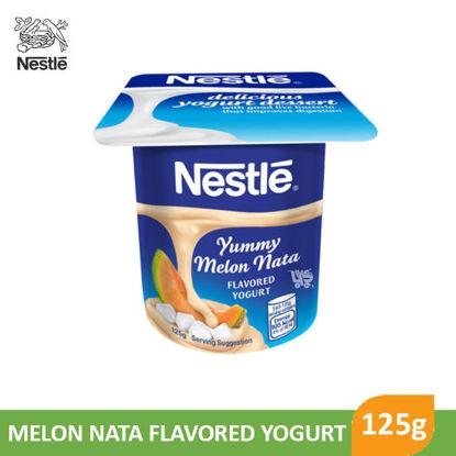 Picture of Nestle Fruit Selection Yogurt Melon Nata 125g - 050767