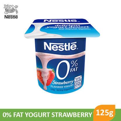 Picture of Nestle 0%Fat Yogurt Strawberry 125g - 017621