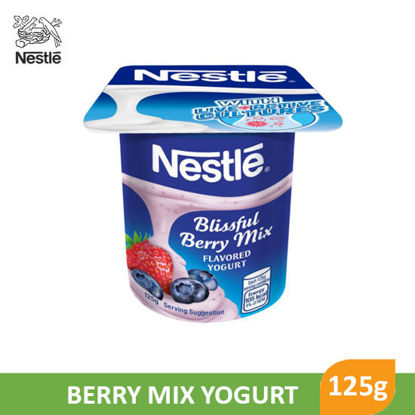 Picture of Nestle Fruit Selection Yogurt Berry Mix 125g - 017614
