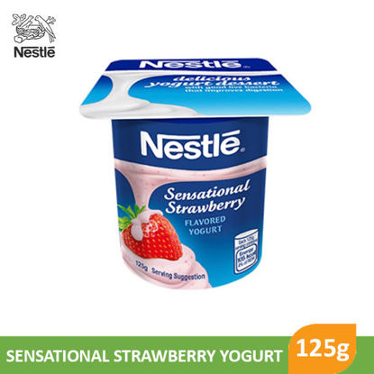 Picture of Nestle Fruit Selection Yogurt Very Strawberry 125g - 022176