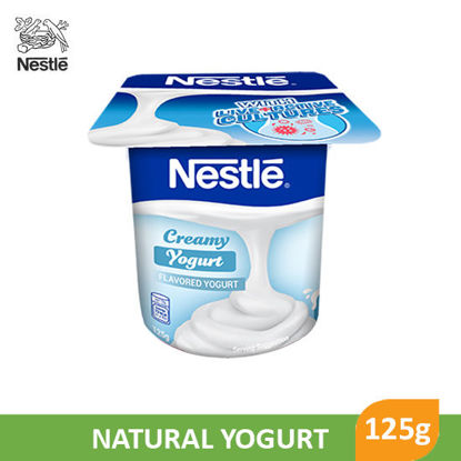 Picture of Nestle Fruit Selection Yogurt Natural 125g - 017618