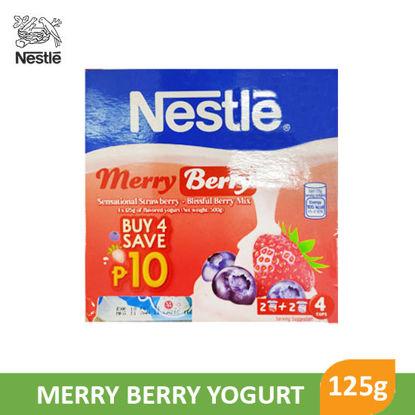 Picture of Nestle Yogurt Merry Berry 125g x 4's - 098283