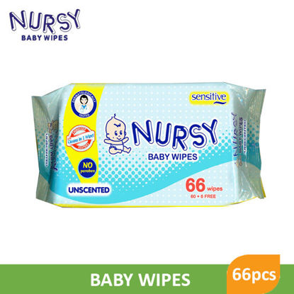 Picture of Nursy Baby Wipes 66 Sheets - 061859
