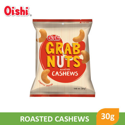 Picture of Oishi Grab Nuts Roasted Cashews 30g - 087622