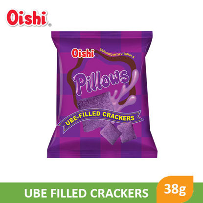 Picture of Oishi Pillows Ube Cracker 38g - 029371