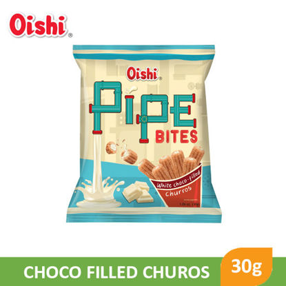 Picture of Oishi Pipe Bites Choco-Filled Churros 30g - 090130
