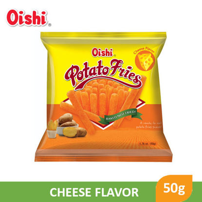 Picture of Oishi Potato Fries Cheese 50g - 059580