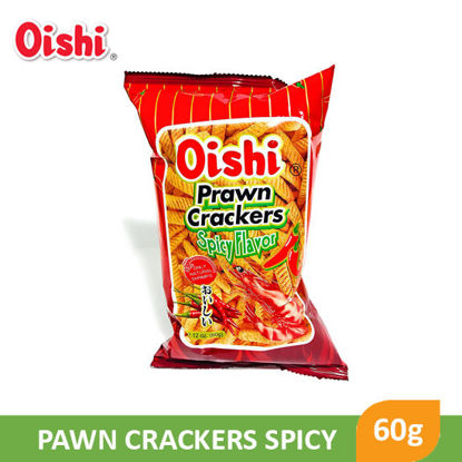 Picture of Oishi Prawn Crackers Spicy 60g - 007703