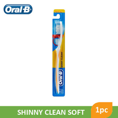 Picture of Oral B Toothbrush Shiny Clean Soft - 065883