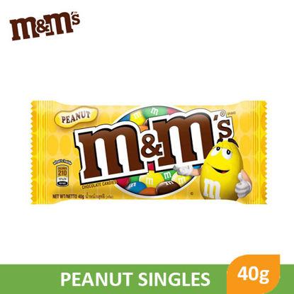 Picture of M&M Peanut Singles 40g - 010727