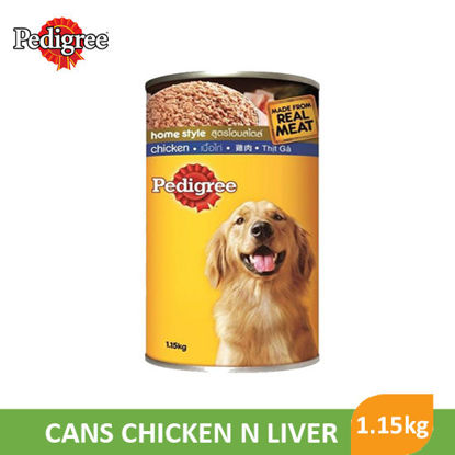 Picture of Pedigree Cans Chicken N Liver 1.15Kg - 090298