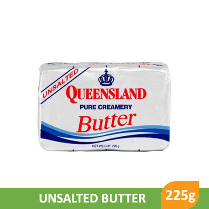 Picture of Queensland Unsalted Butter 225g -    077653