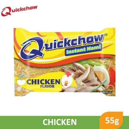 Picture of Quick Chow Instant Mami Noodles Chicken 55g -  014784