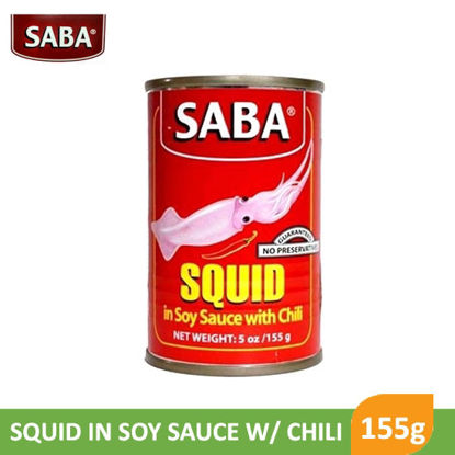 Picture of Saba Squid In Soy Sauce With Chili 155g -  011116