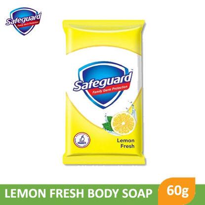 Picture of Safeguard Bar Soap Lemon Fresh 60g -          090206