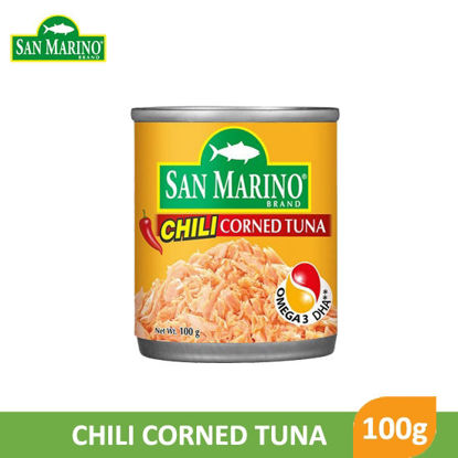 Picture of San Marino Chili Corned Tuna 100g -  061516