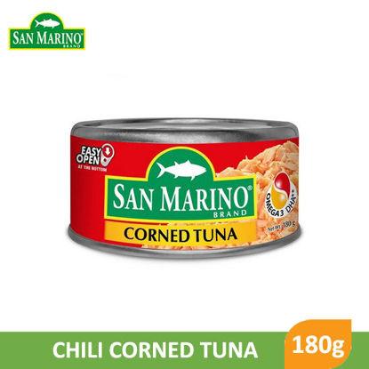 Picture of San Marino Corned Tuna 180g -        054162