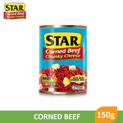 Picture of Star Corned Beef Chunky Cheese 150g -  083251