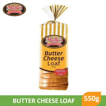 Picture of Melle'S Butter Cheese Loaf Bread 550g -  095871