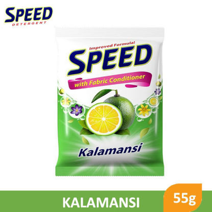 Picture of Speed Powder Detergent With Fabric Conditioner Kalamansi 55g -  045131