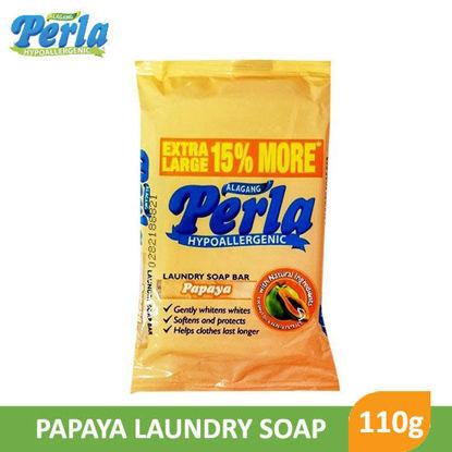 Picture of Perla Laundry Soap Bar Hypoallergenic Papaya 110g -  044171