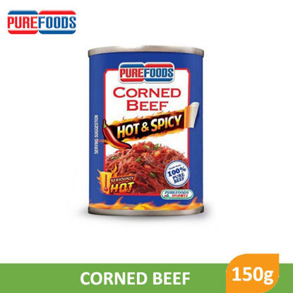 Picture of Purefoods Corned Beef Hot N Spicy 150g -  093810