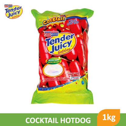 Picture of Purefoods Tender Juicy Cocktail 1Kg -  012543