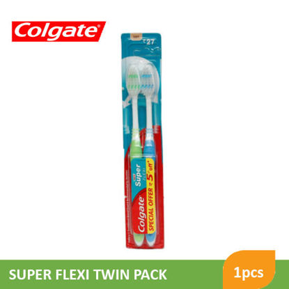 Picture of Colgate Ctb Super Flexi Twin Pack - 86576