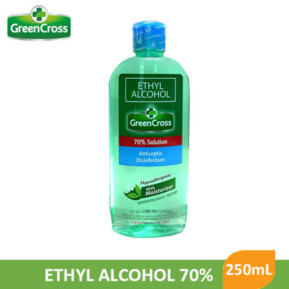 Picture of GreenCross Ethyl Alcohol 70% 250mL - 9882