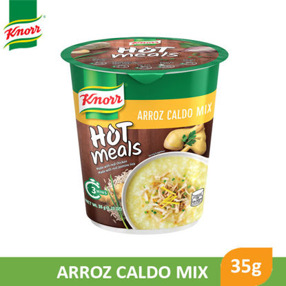 Picture of Knorr Cup Hot Meals Arroz Caldo 35g - 90810