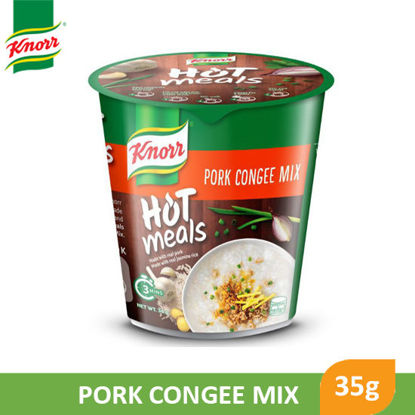 Picture of Knorr Cup Hot Meals Pork Congee 35g - 90811