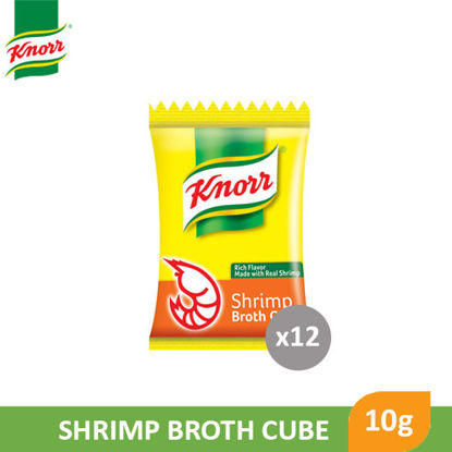 Picture of Knorr Shrimp Cube Singles 10g x 12's - 88407