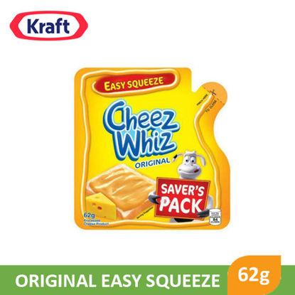 Picture of Kraft Cheez Whiz Original Easy Squeeze 62g - 63092